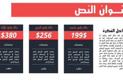 Slide3 قالب المحترف – عرض بوربوينت عربي ومجاني جاهز للتعديل (حصري)