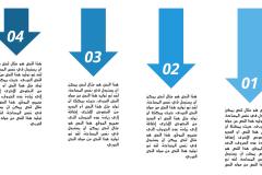 قالب روعة – عرض بوربوينت عربي ومجاني جاهز للكتابة والتعديل (حصري) Slide3