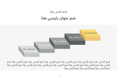 قالب اليوم الأول - عرض بوربوينت عربي ومجاني جاهز للتعديل Slide12
