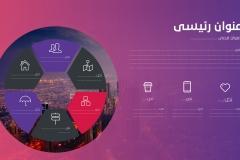 Slide5 قالب مينيمال – عرض بوربوينت احترافي ومميز للأعمال بالعربي ومجانا